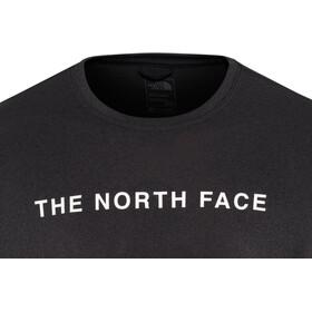 The North Face Train N Logo Koszulka z krótkim rękawem Mężczyźni, tnf black heather